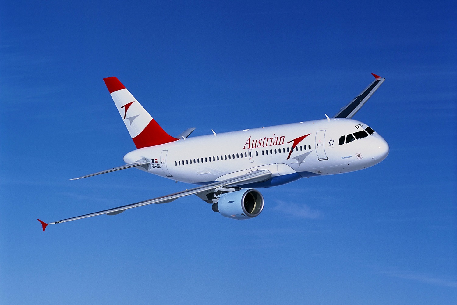 Austrian air line (Austrian Airlines). Official site.